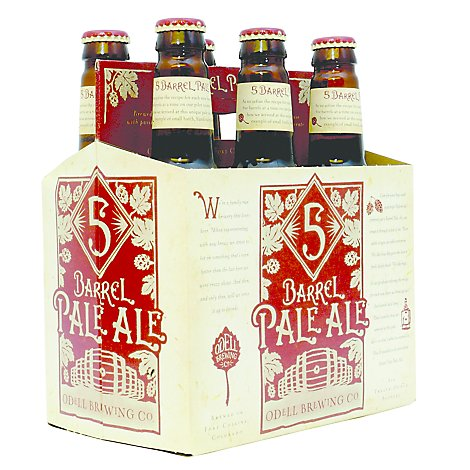 Odells 5 Barrel Bale Ale Bottles - 6-12 Fl. Oz.