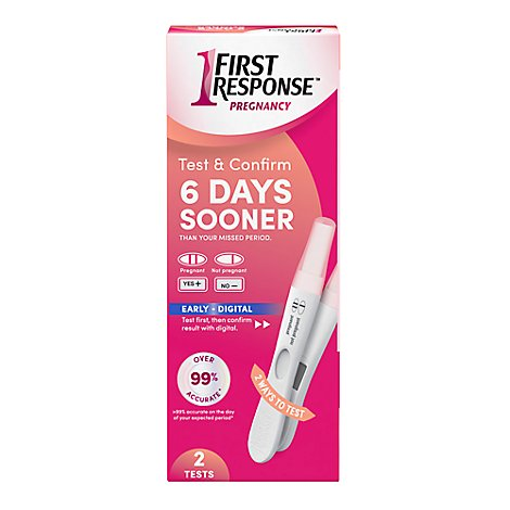 First Response Test Confirm Test - 2 Count
