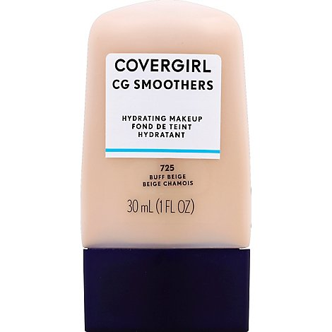COVERGIRL CG Smoothers Hydrating Makeup Buff Beige 725 - 1 Fl. Oz.