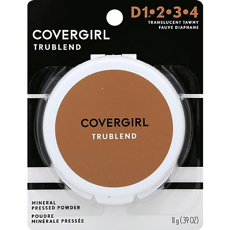 COVERGIRL truBLEND Mineral Pressed Powder Translucent Tawny 5 - 0.39 Oz