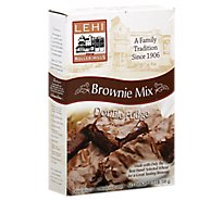 Lehi Roller Mills Brownie Mix Double Fudge - 18 Oz