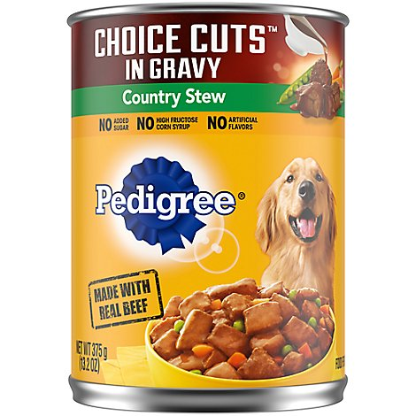 Pedigree Choice Cuts In Gravy Dog Food Adult Wet Country Stew - 13.2 Oz