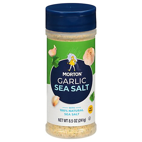 MORTON Sea Garlic Salt - 8.5 Oz