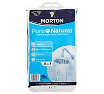 Morton Water Softener Salt Crystals Pure and Natural - 40 Lb