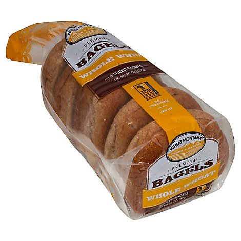 Wheat Mt Honey Wheat Bagels - 20 Oz