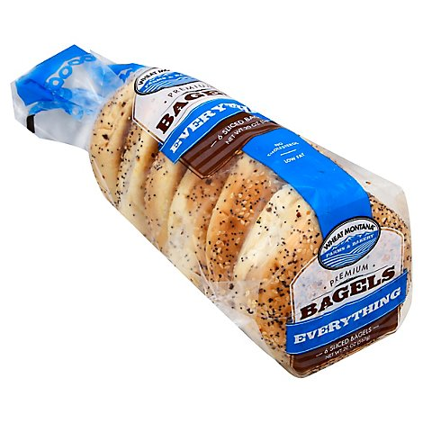 Wheat Montana Bagels Whole Works - 20 Oz