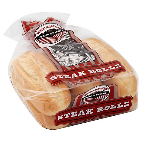Wheat Montana Steak Buns - 18 Oz
