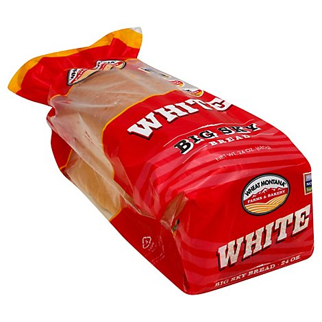 Wheat Mt Big Sky White Bread - 24 Oz