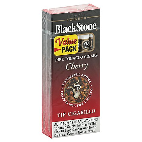 Swisher Blackstone Cigar Cherry Tip - 2/5Package
