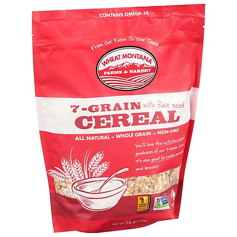 Wheat Montana Cereal 7-Grain - 1.6 Lb