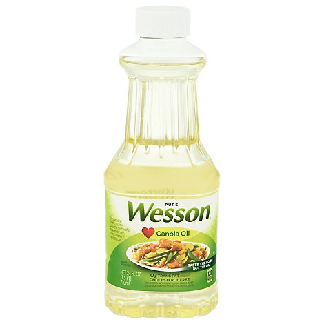 Wesson Canola Oil - 24 Fl. Oz.