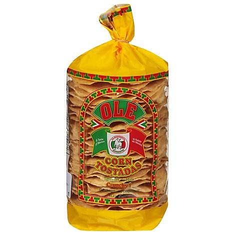 Ole Tostadas Corn Crunchy Bag - 12.4 Oz