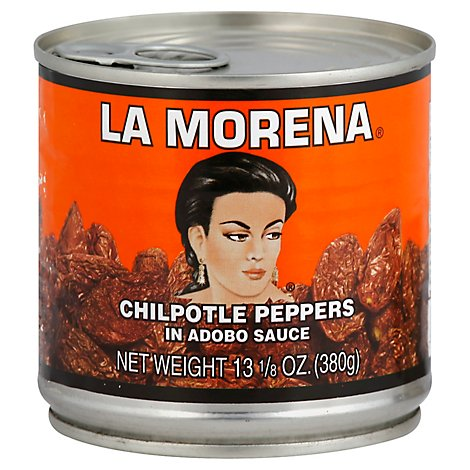 La Morena Peppers Chipotle In Adobo Sauce Bag - 13.125 Oz
