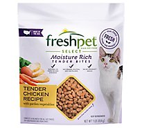 Freshpet Select Dog Food Roasted Meals Tender Chicken Recipe Pouch - 1 Lb