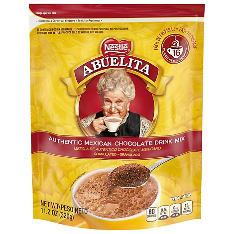 Nestle Abuelita Hot Chocolate Drink Mix Granulated Pack - 11.2 Oz