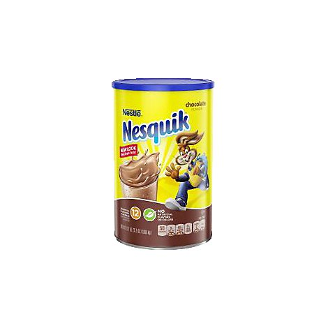 Nesquik Powder Drink Mix Chocolate Flavor Limited Edition Marvel Age of Ultron - 35.56 Oz