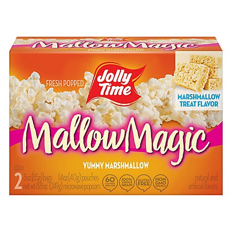 Jolly Time Microwave Popcorn Mallow Magic - 8.8 Oz