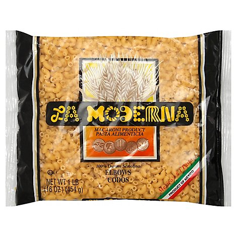 La Moderna Pasta Elbow Bag - 16 Oz