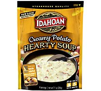 Idahoan Steakhouse Soup Potato Creamy - 7.1 Oz