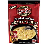 Idahoan Steakhouse Soup Potato Loaded - 7.1 Oz