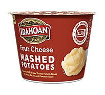 Idahoan Potatoes Mashed Four Cheese Cup - 1.5 Oz
