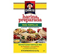 Quaker Tortilla Mix White Flour Harina Preparada - 64 Oz