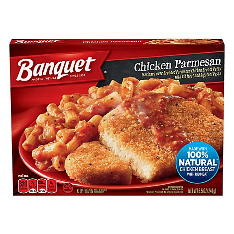 Banquet Meal Chicken Parmesan - 8.5 Oz