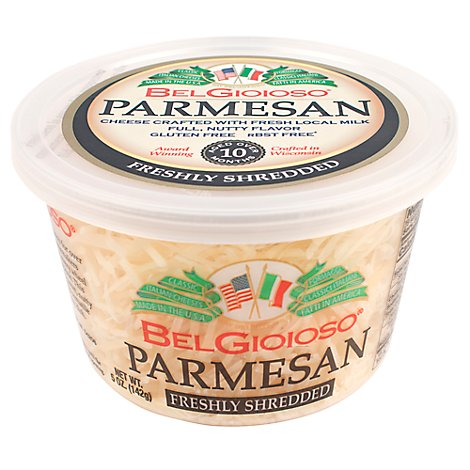BelGioioso Cheese Parmesan Shredded Cup - 5 Oz