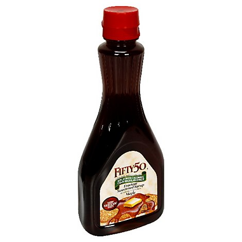 Fifty 50 Syrup Maple - 12 Fl. Oz.