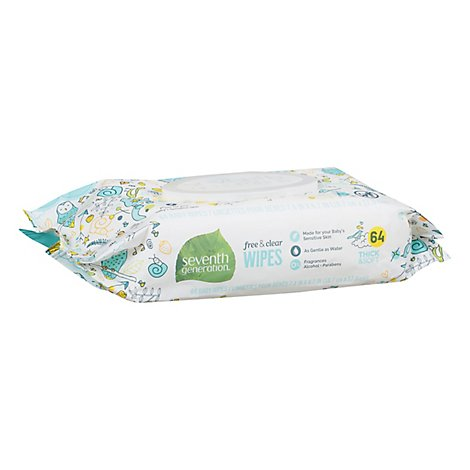 7th Gen Baby Wipes Chlorine Free Baby Wi - Each
