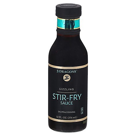 East West Sizzling Stir Fry Sauce - 12 Fl. Oz.