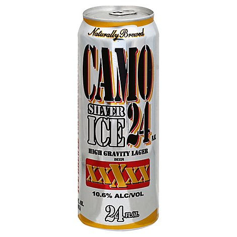 Camo Silver Ice 24oz Can - 24 Fl. Oz.