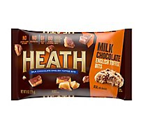 Health English Toffee Bits Milk Chocolate Wrapper - 8 Oz