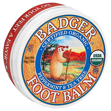 Badger Foot Balm - 2 Oz