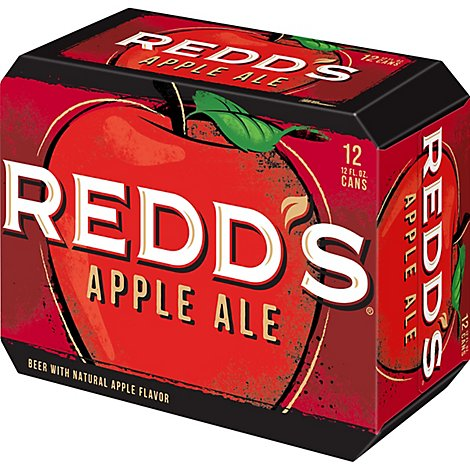 REDDS Beer Apple Ale 5% ABV Cans - 12-12 Fl. Oz.
