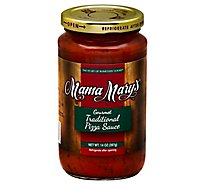 Mama Marys Pizza Sauce Gourmet Traditional Jar - 14 Oz