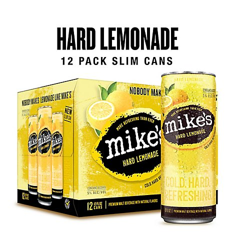 Mikes Fridge Pack Cans - 12-12 Fl. Oz.