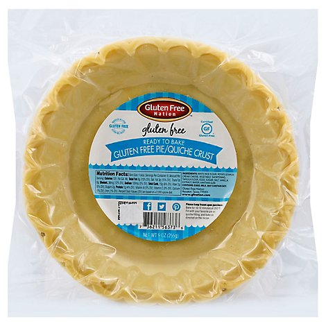 Gluten Free Nation Pie Crust - 9 Oz