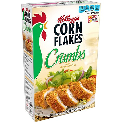 Corn Flakes Crumbs Original - 21 Oz