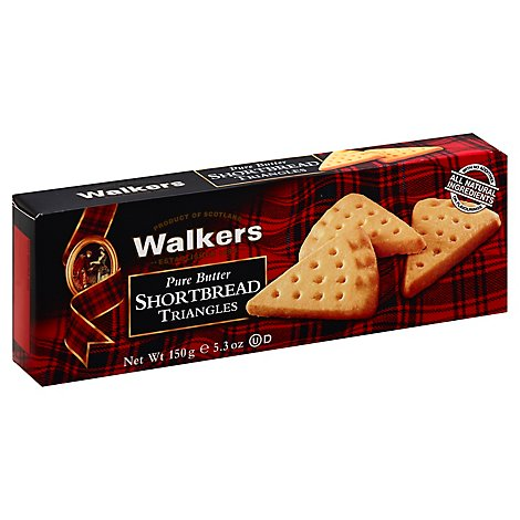Walkers Shortbread Pure Butter Triangles - 5.3 Oz