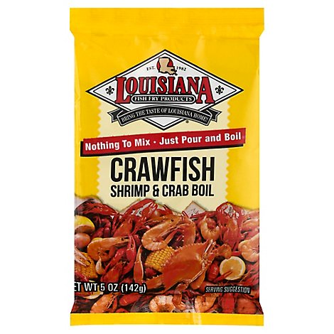 Louisiana Fish Fry Crw/Crb/Shmp Boil - 5 Oz