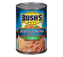 BUSHS BEST Cocina Latina Beans Refried Fat Free Vegetarian Can - 16 Oz
