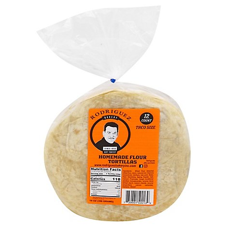 Rodriguez Bakery Tortillas - 12 Count