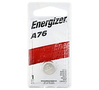Energizer A76BPZ Multipurpose Battery - Alkaline - 1 Pack