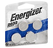 Energizer Multipurpose Battery - Lithium - 4 Pack