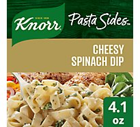 Knorr Pasta Sides Fettuccini Cheesy Spinach Dip Pouch - 4.1 Oz