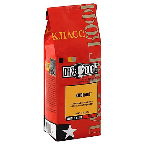DAZBOG COFFEE Coffee Whole Bean Bold Kgblend - 12 Oz