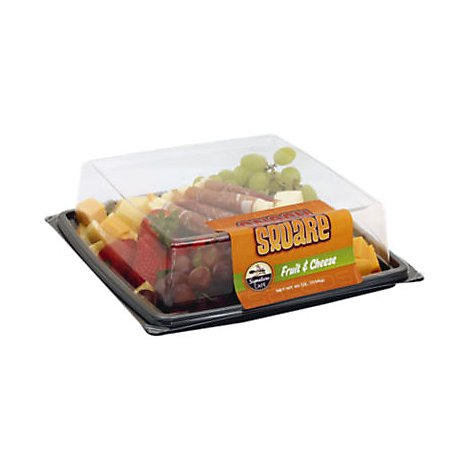 Deli Catering Tray Fruit & Cheese - 40 Oz
