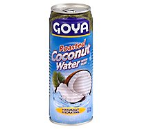 Goya Coconut Water Roasted With Pulp Can - 17.6 Oz