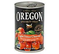 Oregon Specialty Fruit Cherries Dark Sweet Cherries Pitted In Heavy Syrup - 15 Oz